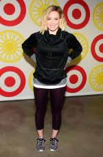 Hilary Duff At SoulCycle x Target Launch Event In NYC