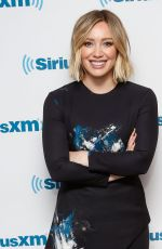 Hilary Duff At The SiriusXM Studios In NY