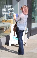 Hilary Duff Out And About In Beverly Hills