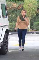 Hilary Duff Out In Beverly Hills