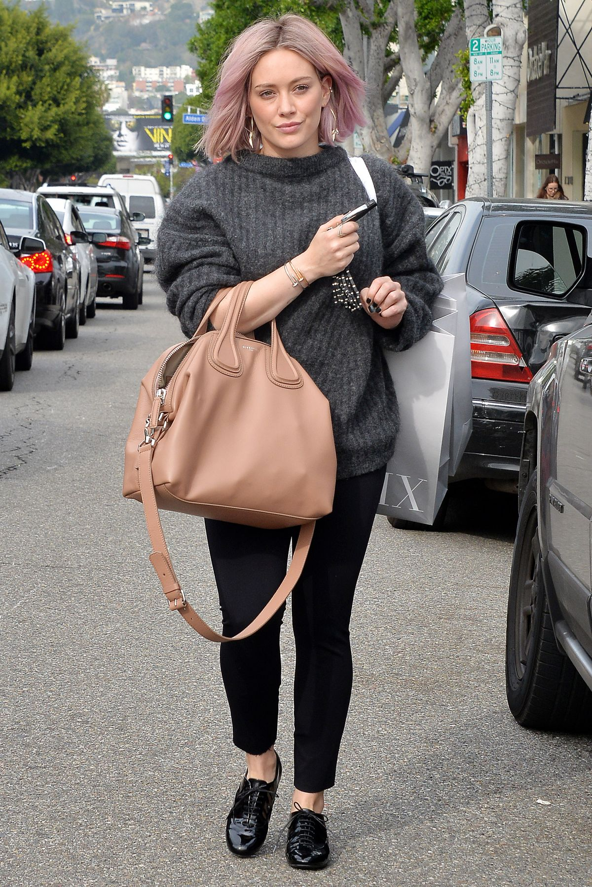 Hilary Duff Out In West Hollywood