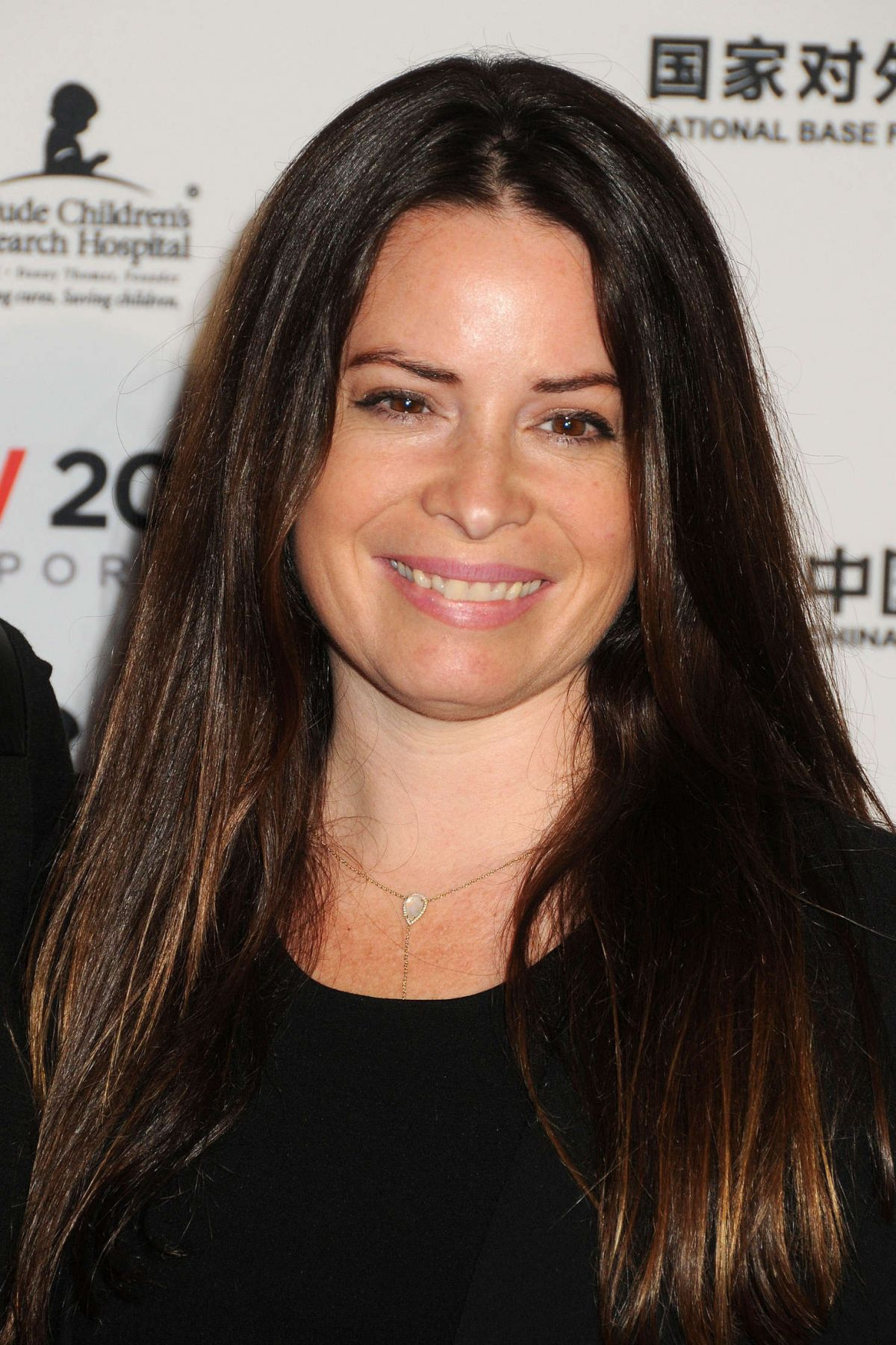 Holly Marie Combs At LA Art Show and Los Angeles Fine Art Show