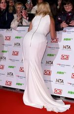 Holly Willoughby At National Television Awards In London