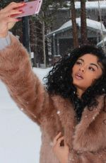 India & Crystal Westbrooks On Winter Vacation - Self Shots