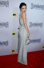 Ivana Baquero At The Shannara Chronicles Premiere Party In LA