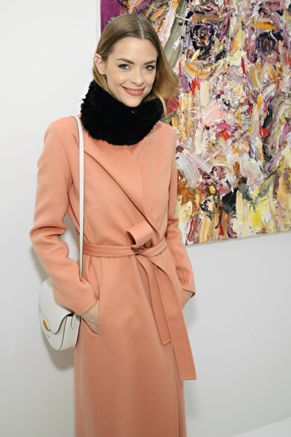 Jaime King At Voyeur by Vanessa Prager Hosted by Fred Armisen In NYC