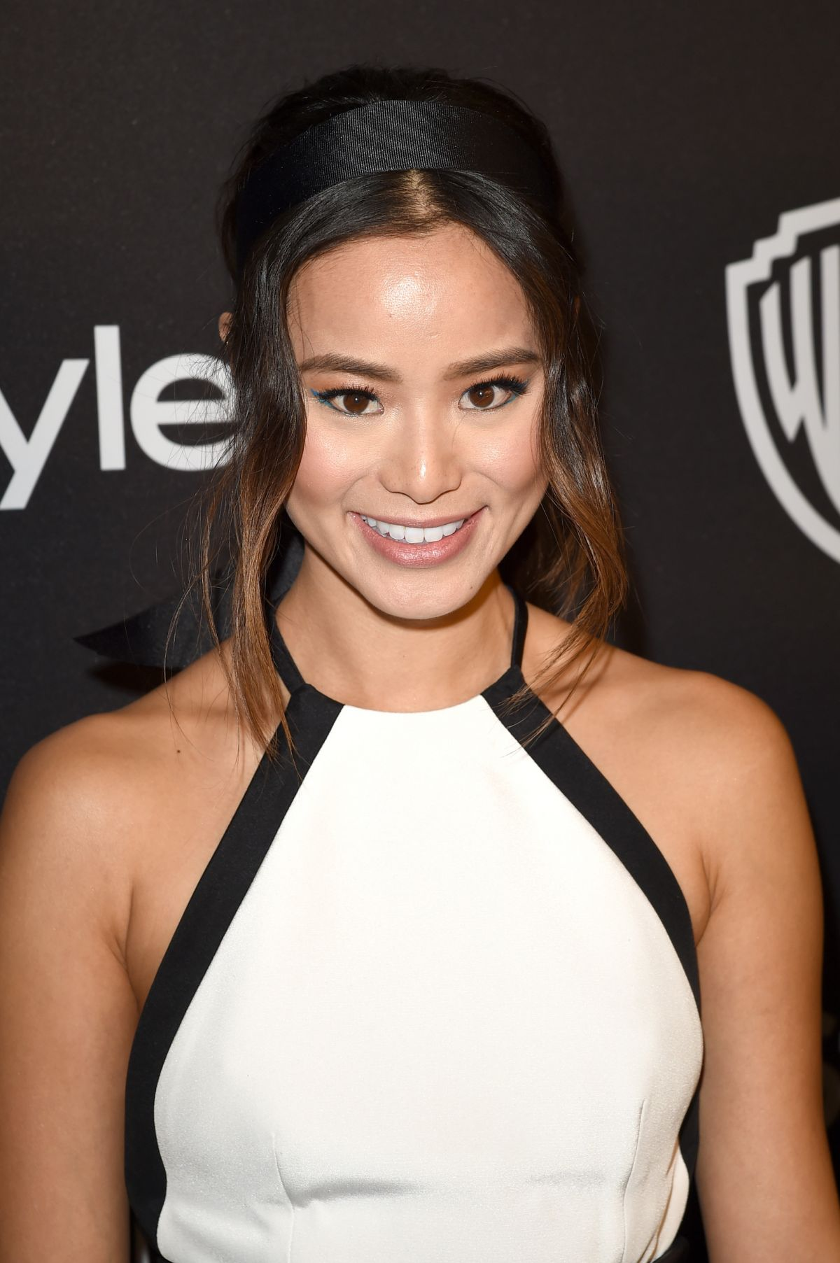 Jamie Chung At InStyle and Warner Bros. 73rd Annual Golden Globe Awards Post-Party