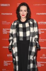"Jena Malone At ""Lovesong"" Premiere During The 2016 Sundance Film Festival"