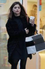 Jenna Coleman Stepping Out To Grab A Coffee In London
