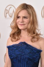 Jennifer Jason Leigh At 27th annual Producers Guild Awards In Los Angeles