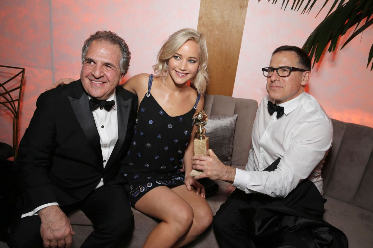 Jennifer Lawrence At Twentieth Century Fox Golden Globes After Party