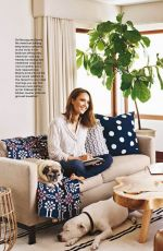 Jessica Alba In Better Homes and Gardens February 2016