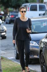 Jessica Alba Out In West Hollywood