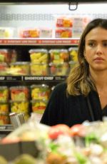 Jessica Alba Pictured Shopping In Beverly Hills