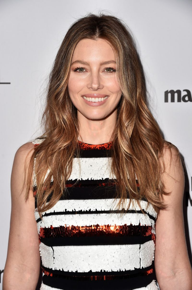 Jessica Biel At Inaugural Image Maker Awards Hosted by Marie Claire In LA