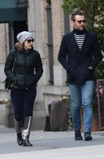 Jessica Chastain Out And About In New York City
