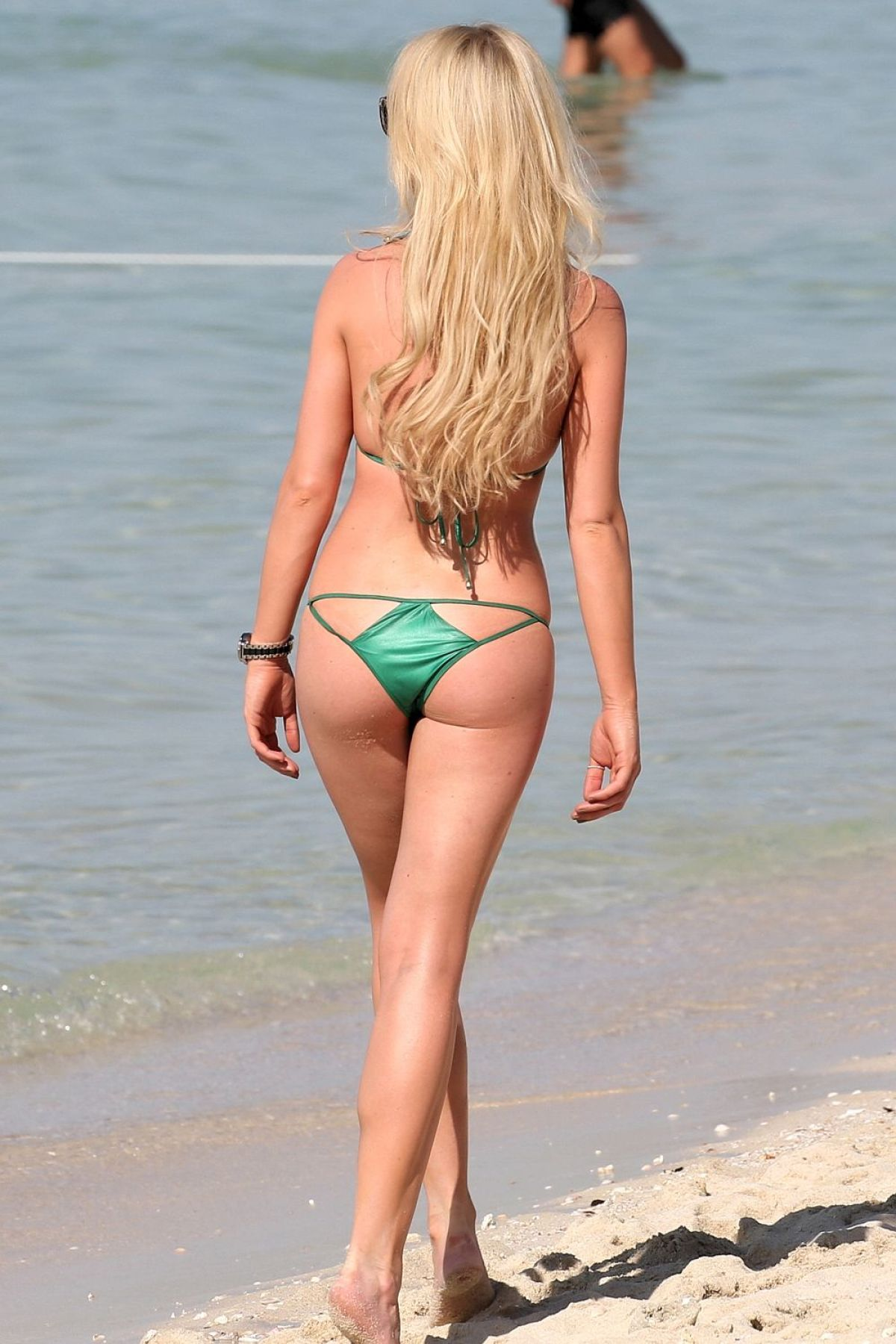 Holly Body Green Bikini 19
