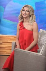 Julianne Hough Visits Good Morning America In NYC