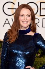 Julianne Moore At The 73rd Annual Golden Globe Awards