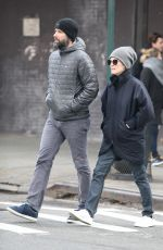 Julianne Moore Out And About In New York City