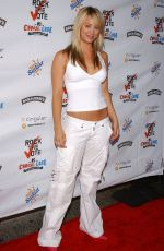 Kaley Cuoco At Rock The Vote National Bus Tour Concert In Hollywood