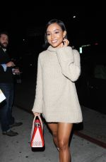 Karrueche Tran Goes To The Nice Guy Club In West Hollywood
