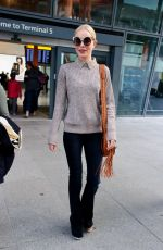 Kate Bosworth At Heathrow Airport