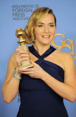 Kate Winslet At 73rd Annual Golden Globe Awards In Beverly Hills