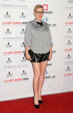 Kathleen Robertson At LA Art Show and Los Angeles Fine Art Show