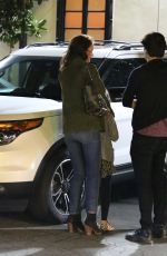 Katie Holmes Out In Woodland Hills