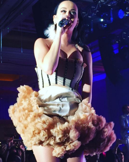 Katy Perry Performing At A Private New Years Eve Show In Las Vegas