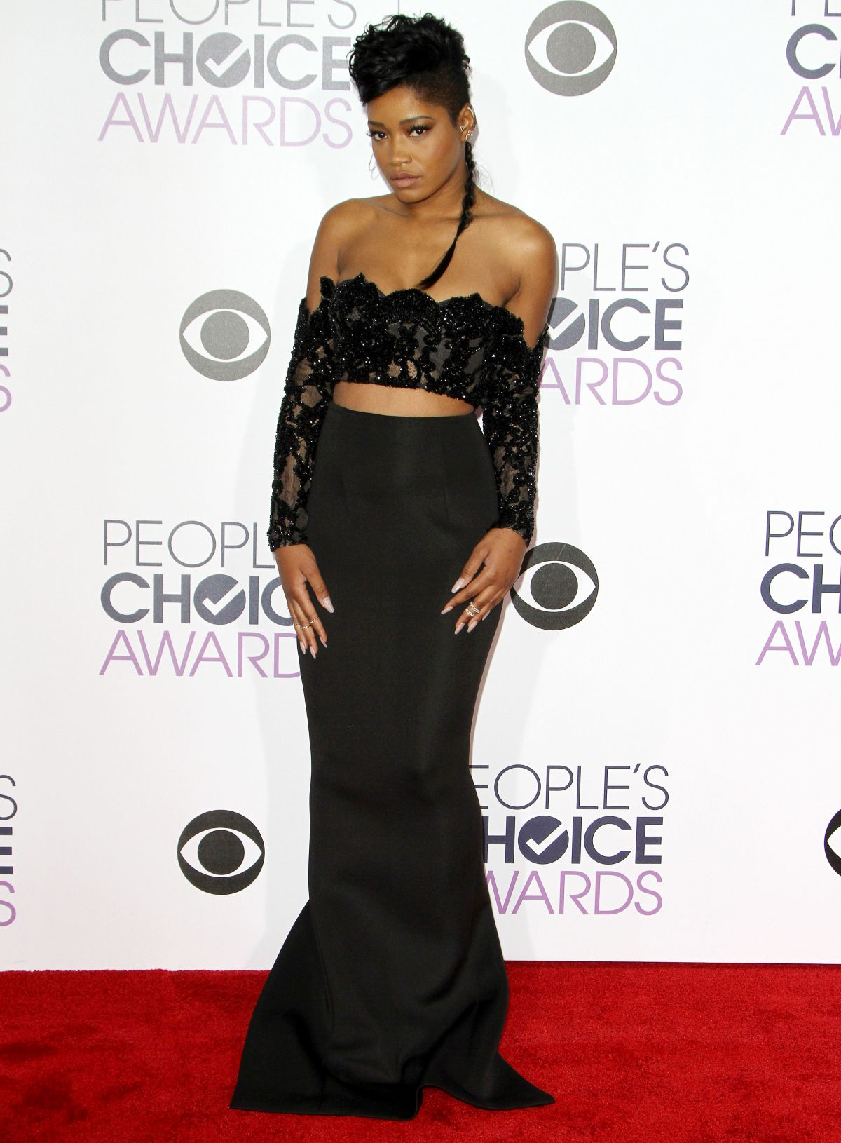 Keke Palmer At 2016 People's Choice Awards, Microsoft ...