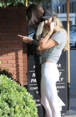 Kendall Jenner and Hailey Baldwin Out In Beverly Hills