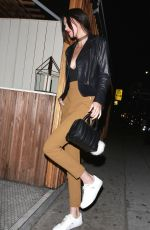 Kendall Jenner Arriving At Nice Guy In West Hollywood