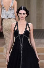 Kendall Jenner At Chanel Haute Couture Spring Summer 2016 Fashion Show In Paris