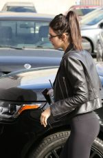 Kendall Jenner In Spandex In West Hollywood