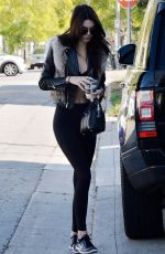 Kendall Jenner O&A In Beverly Hills