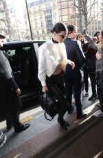 Kendall Jenner Out In Paris