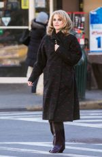 Keri Russell On The Set Of