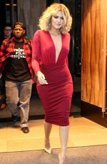 Khloe Kardashian Braless And THONG On 'Live With Kelly And Michael'