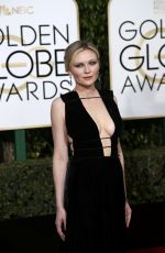 Kirsten Dunst At 73rd Annual Golden Globe Awards In Beverly Hills