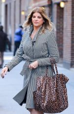 Kirstie Alley Leaving The Today Show In NYC