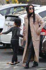 Kourtney Kardashian At Movie Theater With Her Family In Westlake Village