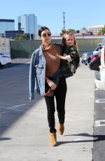 Kourtney Kardashian Shopping At Neiman Marcus In Los Angeles