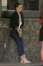 Kristen Stewart Outside A Restaurant In West Hollywood