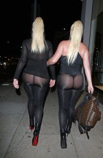 Kristina and Karissa Shannon Closed The Glam Hair Salon In Beverly Hills