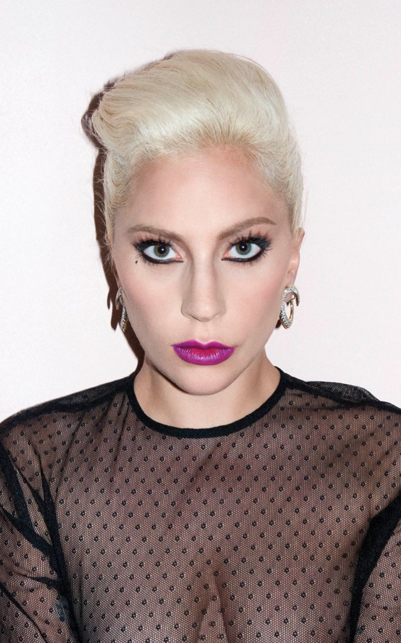 Lady Gaga In V Magazine Issue #99 - Celebzz - Celebzz Lady Gaga