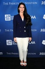Lana Del Rey At Gala Benefiting Haitian Relief In Beverly Hills