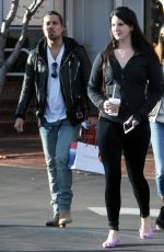 Lana Del Rey Goes Shopping With Friends At Fred Segal