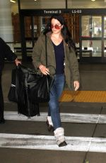 Lana Del Rey Was Spotted At LAX